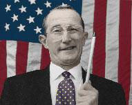 Ross Perot look-alike