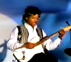 Jimi Hendrix look-alike
