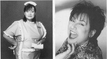 Roseanne Barr look-alike