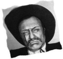 Teddy Roosevelt look-alike