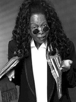 Whoopi Goldberg impersonator