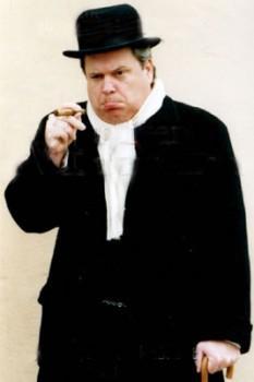 Winston Churchill impersonator